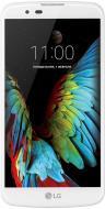 Смартфон LG K10 LTE (K430) DUAL SIM WHITE (LGK430ds.ACISWH)