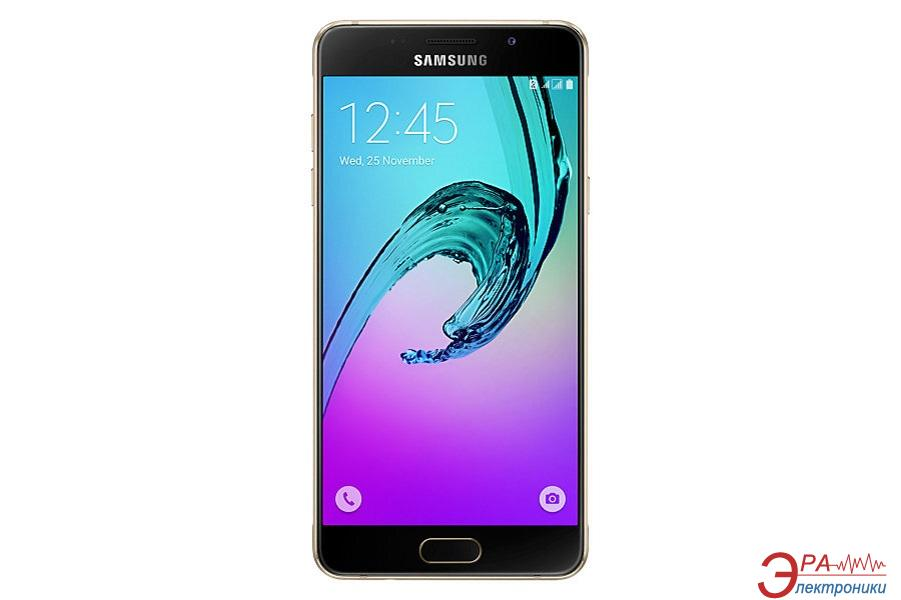 Смартфон Samsung Galaxy A5 2016 Duos Gold (SM-A510FZDDSEK)