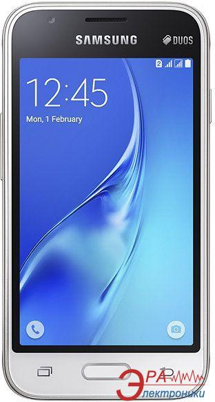 Смартфон Samsung Galaxy J1 Mini J105H Dual Sim WHITE (SM-J105HZWDSEK)