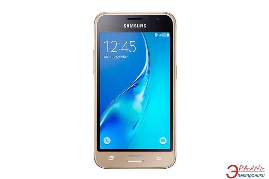 Смартфон Samsung Galaxy J1 (2016) DUAL SIM GOLD (SM-J120HZDDSEK)