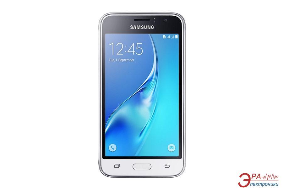 Смартфон Samsung Galaxy J1 (2016) DUAL WHITE (SM-J120HZWDSEK)