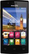 Смартфон Philips S307 Dual Sim Black-Yellow (8712581736125)