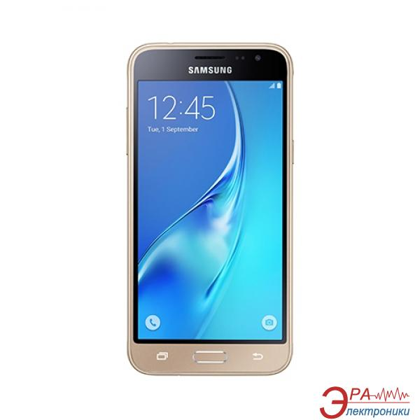 Смартфон Samsung Galaxy J3 2016 J320H Dual Sim Gold (SM-J320HZDDSEK)
