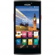 Смартфон Philips S337 Dual Sim Black-Red
