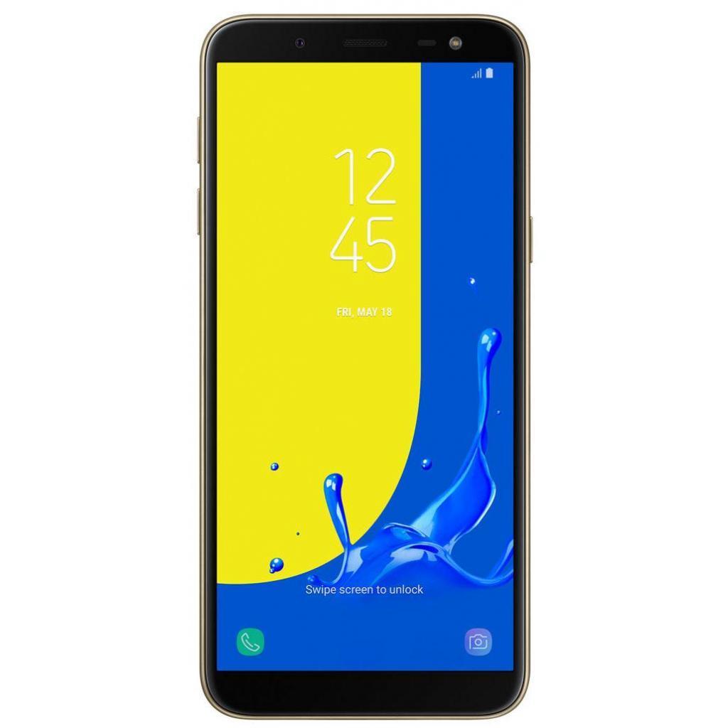 Смартфон Samsung Galaxy J6 Duos SM-J600F ZDD Gold (SM-J600FZDDSEK)