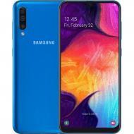 Смартфон Samsung Galaxy A50 4/64GB Dual Sim Blue (SM-A505FZBUSEK)