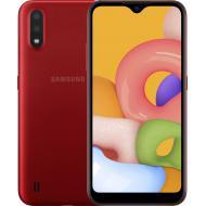 Смартфон Samsung Galaxy A01 SM-A015 Dual Sim Red (SM-A015FZRDSEK)