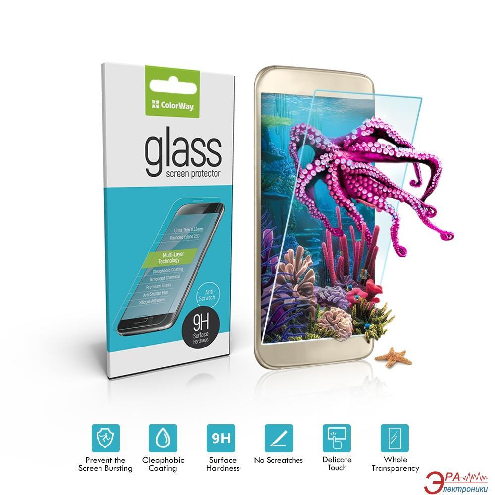 Защитное стекло ColorWay for Samsung Galaxy A5 (2017) SM-A520, 0.33mm, 2.5D (CW-GSRESA520)