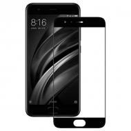 Защитное стекло MakeFuture for Xiaomi Mi6 Black Full Cover, 0.33 mm, 2.5D (MGFC-XM6B)