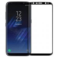 Защитное стекло MakeFuture for Samsung Galaxy S8 Plus Black, 0.33 mm, 3D (MG3D-SS8PB)