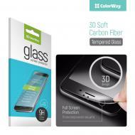 Защитное стекло ColorWay для Huawei P Smart Black, 0.33мм, 3D (CW-GSSCHPSB)