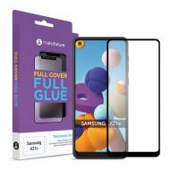 Защитное стекло MakeFuture Samsung Galaxy A21s SM-A217 Full Cover Full Glue, 0.25mm (MGF-SA21S)