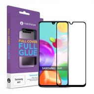 Защитное стекло MakeFuture Samsung Galaxy A41 SM-A415 Full Cover Full Glue, 0.25mm (MGF-SA41)