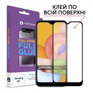 Защитное стекло MakeFuture Samsung Galaxy A01 SM-A015 Full Cover Full Glue, 0.25mm (MGF-SA01)