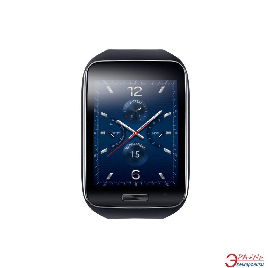 Смарт часы Samsung Gear S Blue Black (SM-R7500ZKA)