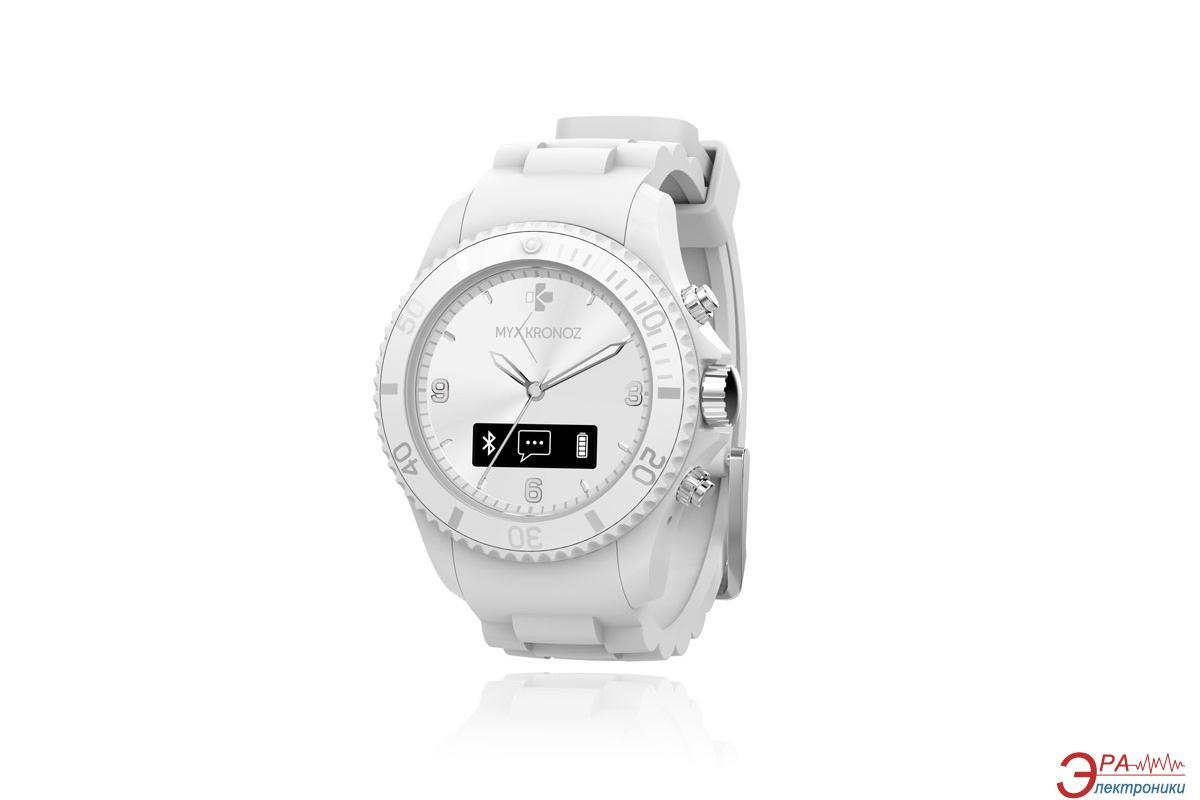 Смарт часы MyKronoz ZeClock  White
