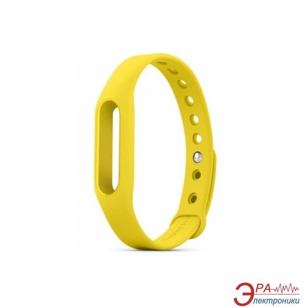 Ремешок для фитнес браслета Xiaomi Mi Band Yellow