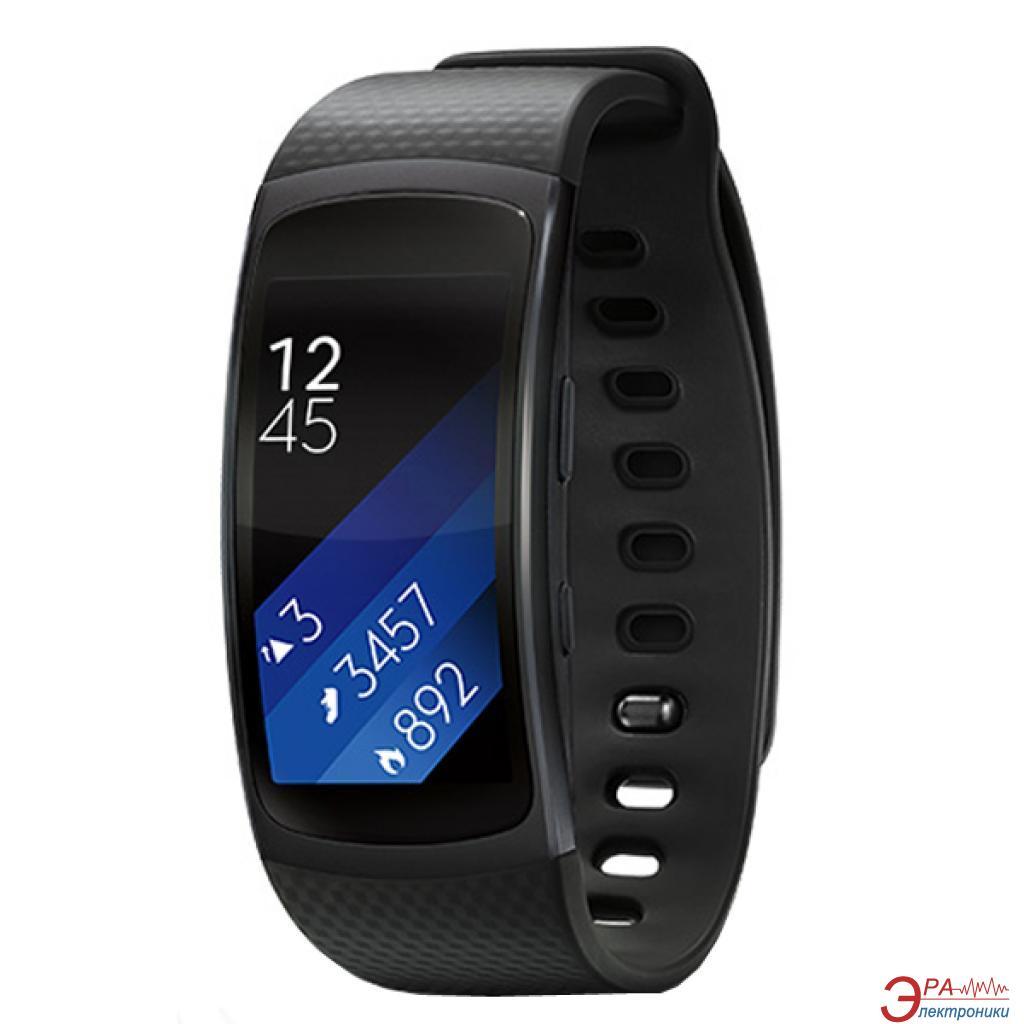 Фитнес браслет Samsung Gear Fit2 Dark Grey (SM-R3600DAASEK)