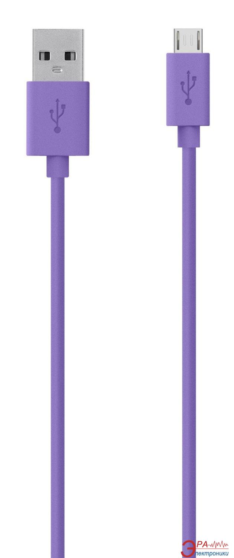 Кабель Belkin USB 2.0 (AM/microB) MIXIT 2m Purple (F2CU012bt2M-PUR)