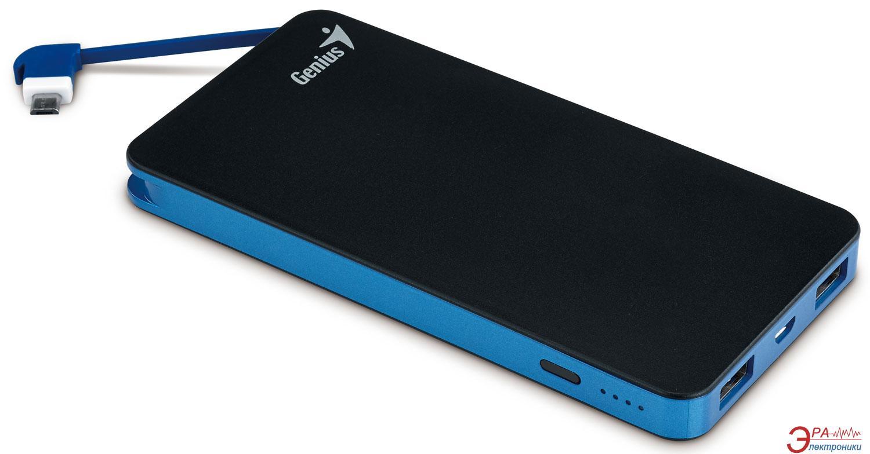 Внешний аккумулятор (PowerBank) Genius ECO-U821 8000 mAh Black (39800006101)