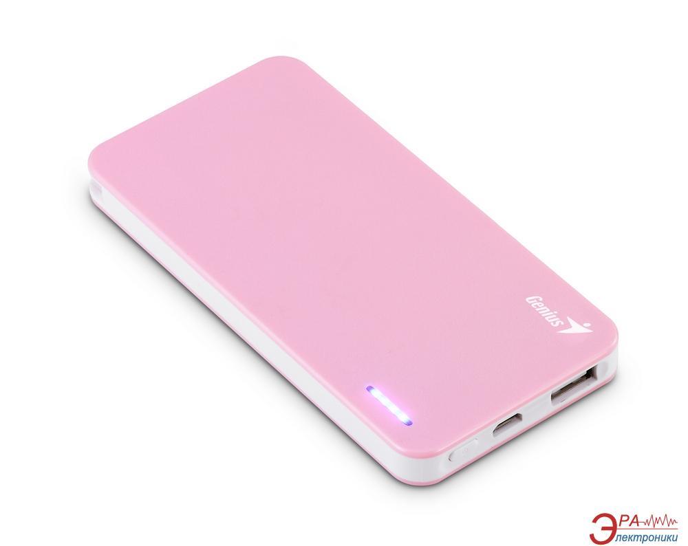 Внешний аккумулятор (PowerBank) Genius ECO-U306 3000 mAh Pink (39800005102)