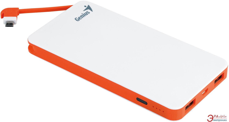 Внешний аккумулятор (PowerBank) Genius ECO-u821 8000 mAh White (39800002100)