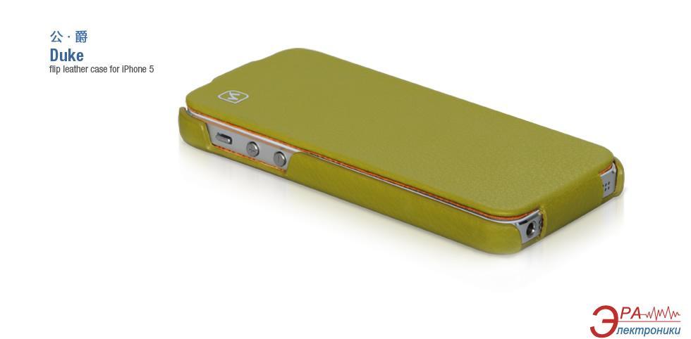 Чехол Hoco iPhone 5 - Duke series Green (HI-L012GR)