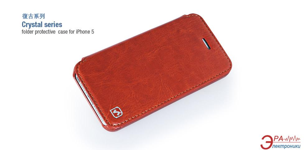 Чехол Hoco iPhone 5 - Crystal series (HI-L029 Brown)