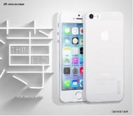Чехол Hoco iPhone 5/5S Thin series Back case White (HI-P012W)