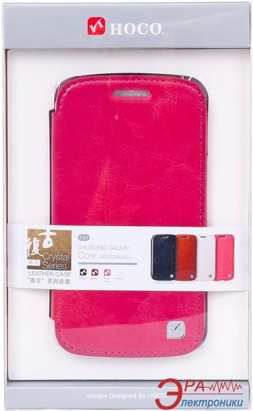 Чехол Hoco Samsung Galaxy Core Duos-Crystal s (HS-L065 Rose Red)