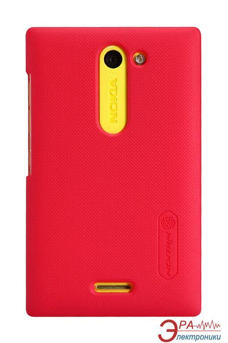 Чехол Nillkin Nokia Asha 502 - Super Frosted Shield (Red) (6116668)