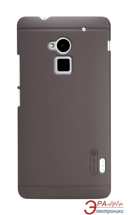 Чехол Nillkin HTC ONE Max - Super Frosted Shield (Brown) (6116589)