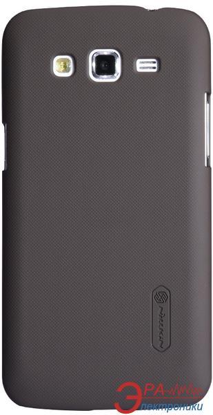 Чехол Nillkin Samsung Galaxy Grand 2 G7102 - Super Frosted Shield (Brown) (6120368)