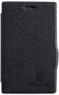 ����� Nillkin Nokia Asha 502 - Fresh Series Leather Case (Black) (6120396)