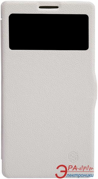 Чехол Nillkin Lenovo K910 - Fresh Series Leather Case (White) (6120376)