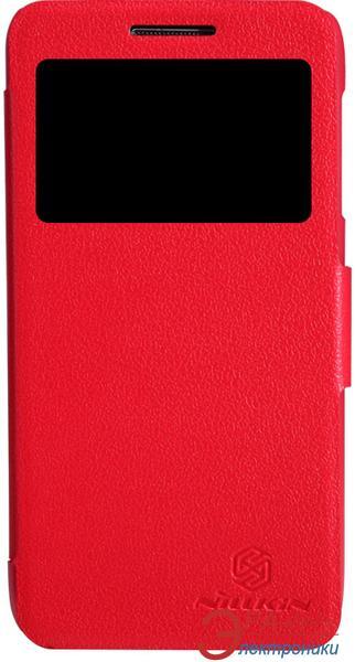 Чехол Nillkin Lenovo S650 - Fresh Series Leather Case (Red) (6119841)