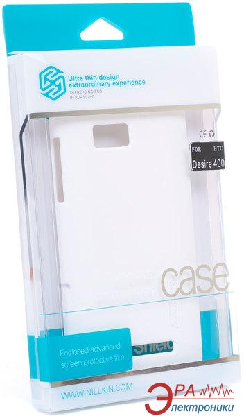 Чехол Nillkin HTC Desire 400 - Super Frosted Shield (White) (6120358)