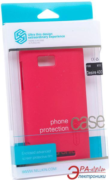 Чехол Nillkin HTC Desire 400 - Super Frosted Shield (Red) (6120357)