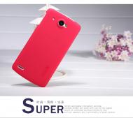 Чехол Nillkin Lenovo S920 - Super Frosted Shield (Rose Red) (6077012)