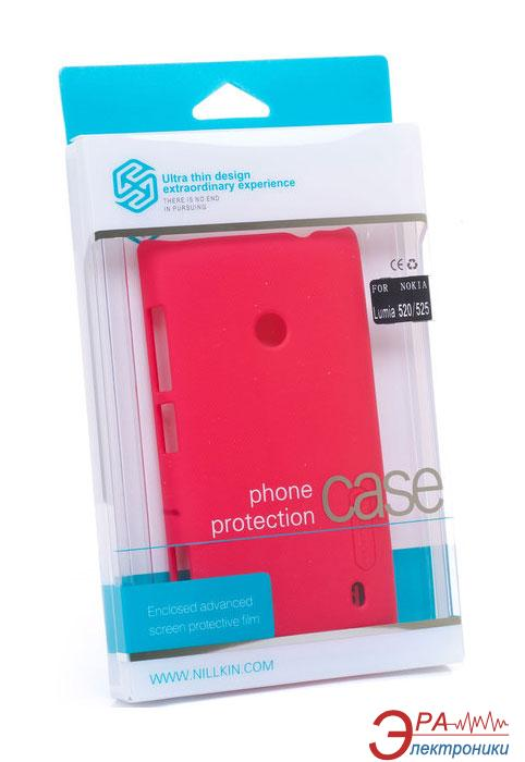 Чехол Nillkin Nokia Lumia 520/525 - Super Frosted Shield (Red) (6120371)