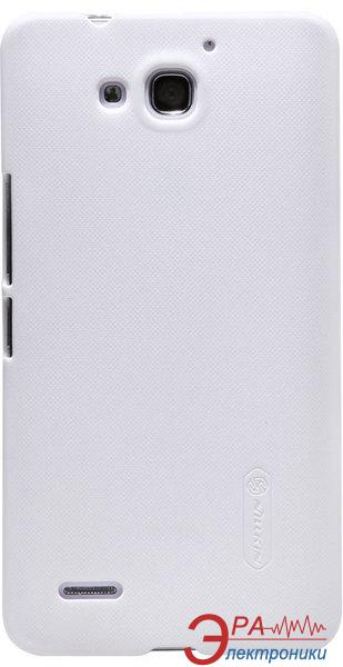 Чехол Nillkin Huawei Honor 3X/G750 - Super Frosted Shield (White) (6129180)