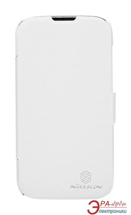 Чехол Nillkin Huawei G610 - Fresh Series Leather Case (White) (6129101)