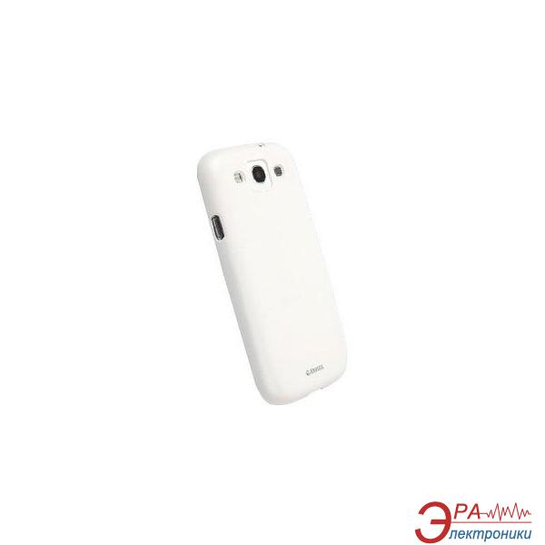 Чехол Krusell Samsung I9300 (SIII) ColorCover White (89678)