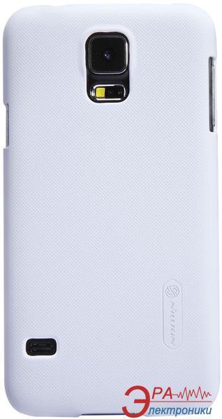 Чехол Nillkin Samsung G900/S-5 - Super Frosted Shield (White) (6135242)