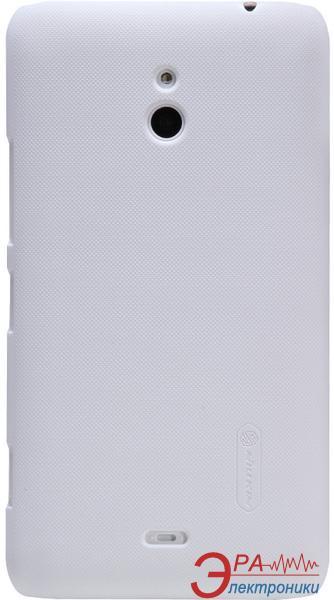 Чехол Nillkin Nokia Lumia 1320 - Super Frosted Shield (White) (6135222)