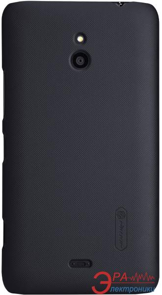 Чехол Nillkin Nokia Lumia 1320 - Super Frosted Shield (Black) (6135218)