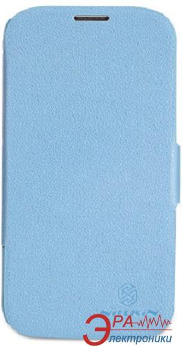 Чехол Nillkin Samsung G900/S-5-Fresh Series Leather Case (Blue) (6135310)