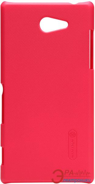 Чехол Nillkin Sony Xperia M2 - Super Frosted Shield (Red) (6147173)