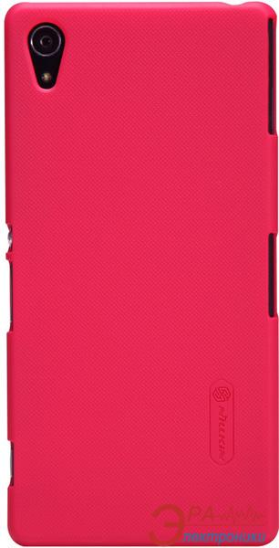 Чехол Nillkin Sony Xperia Z2 - Super Frosted Shield (Red) (6147179)