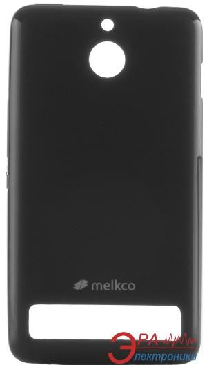 Чехол Melkco Sony Xperia E1 Poly Jacket TPU Black (SEXE1DTULT2BKMT)